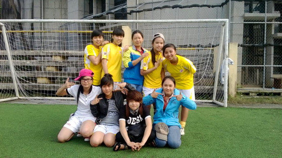 Trinh's recent football team
